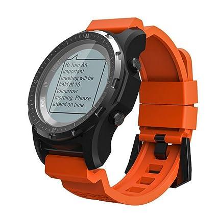 QAR Smart Watch Presión De Aire De La Frecuencia Cardíaca del GPS Running Ciclismo Montañismo Golf