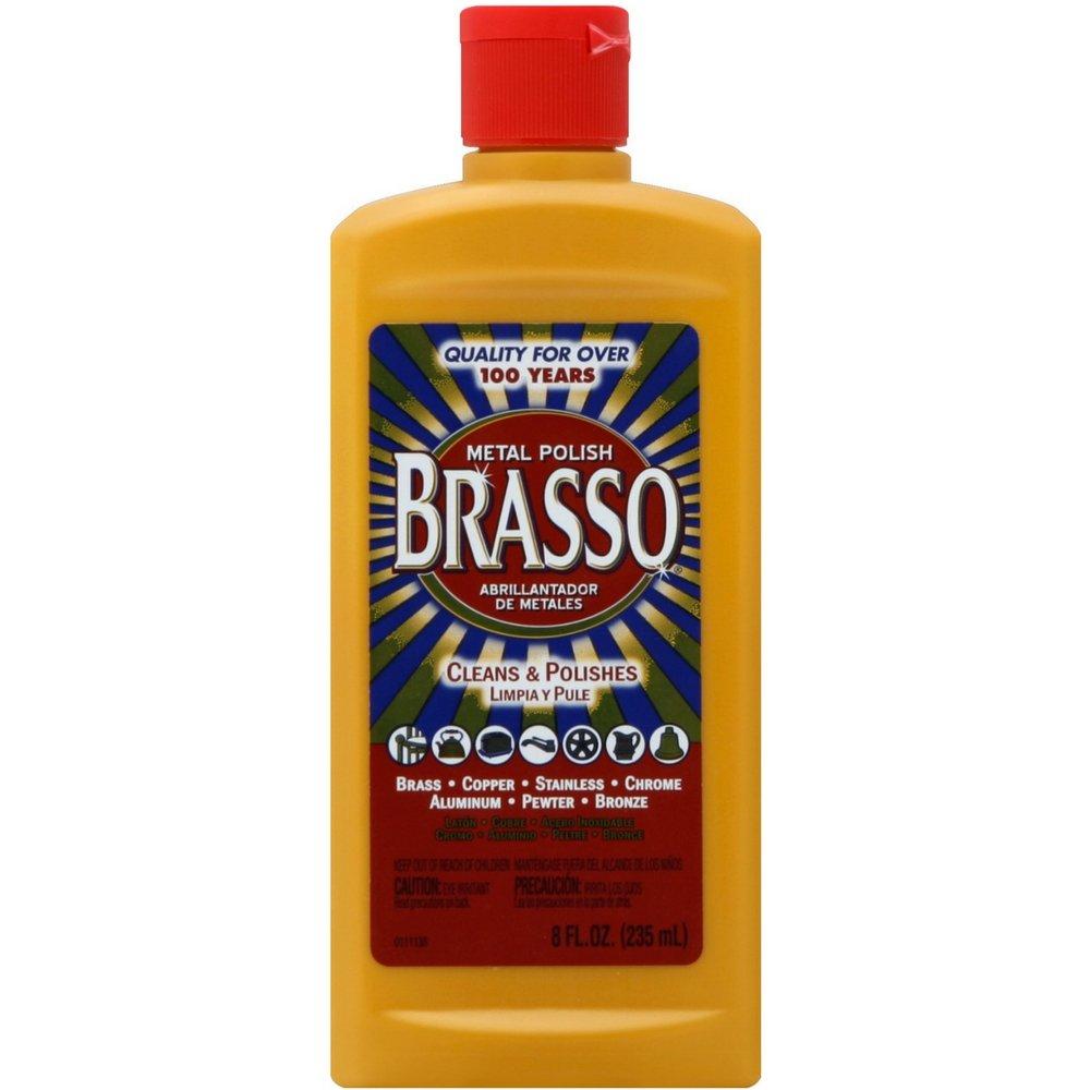 Brasso Multi-Purpose Metal Polish, 8 oz (Pack of 12) by Brasso (Image #1)