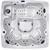 Home and Garden Spas 6 Person 90 Jet Spa with MP3 Auxiliary Output and Ozone Included