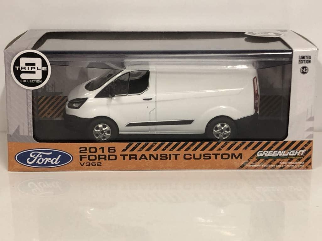 Greenlight 51094 Ford Transit Custom 2016 V362 Frozen White 1:43 Scale