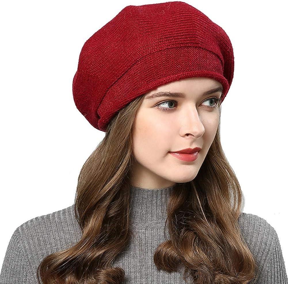GESDY Women Wool Beret Hat...