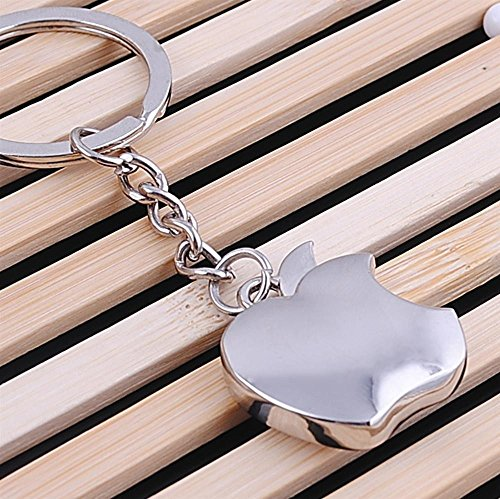 Apple-Logo-Metal-Keychain-Small-Size