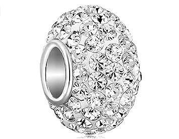 85fed756c3b820 Exquisit Anhänger Perlen Kristall Charms Perlen passen Pandora ...