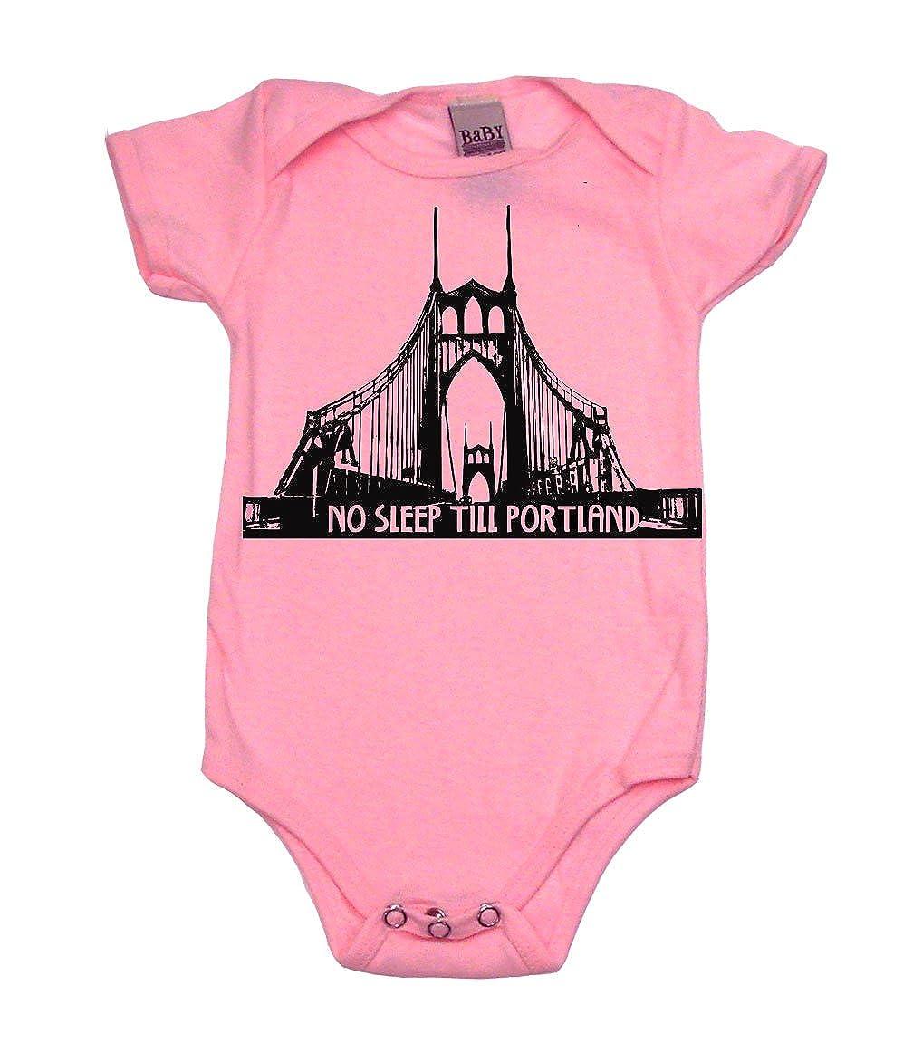 No Sleep Till Portland Cool Baby Onesie Cool Baby Gift Bodysuit or T-Shirt