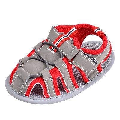 CHENGYANG Sandales Bébé Fille Garçon Chaussure Premier Pas Anti-Dérapant Chaussures Souples Semelle
