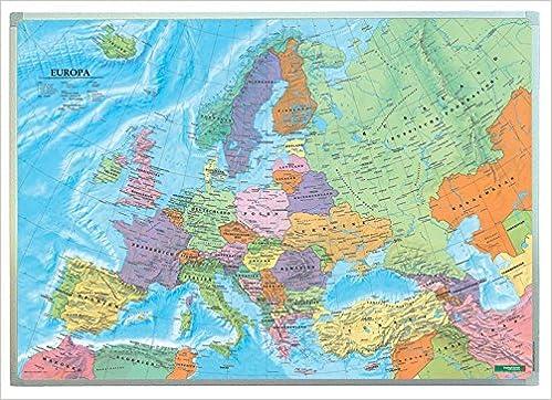 Europa Politisch Wandkarte 1 6 Mio Markiertafel Freytag