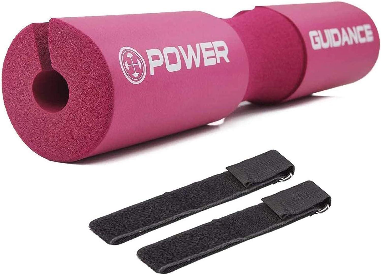 Pad de Protection Sponge Squat pour Le Cou et Les /épaules pour la Musculation Samfox Barbell Pad