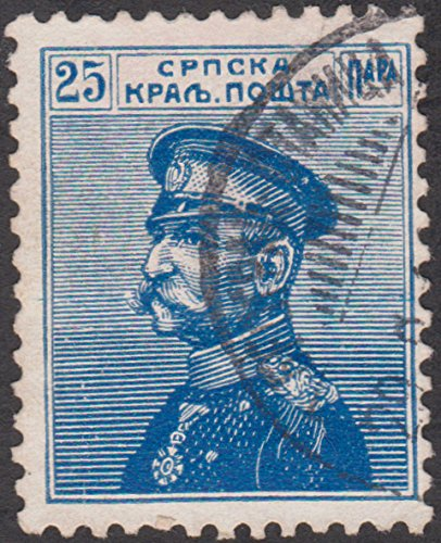 stamp Serbia 25 Postage