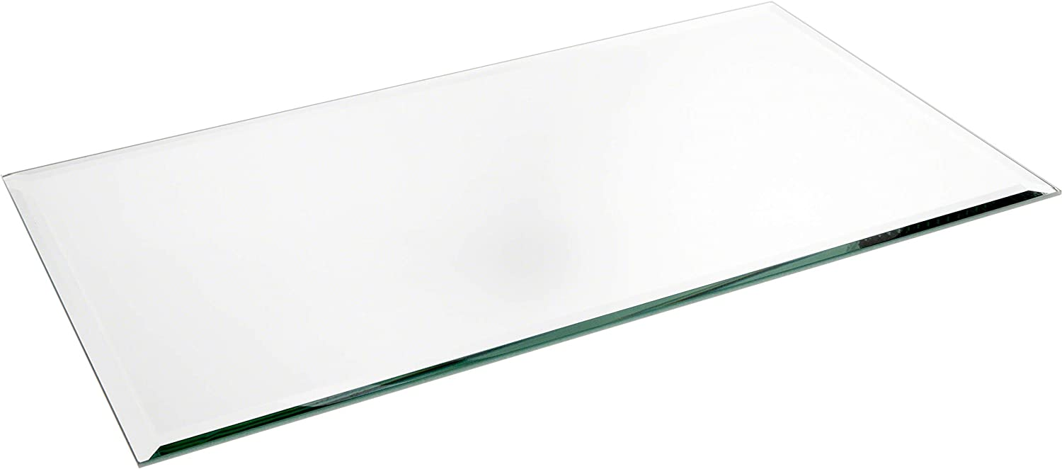 Plymor Rectangle 5mm Beveled Glass Mirror, 10 inch x 18 inch