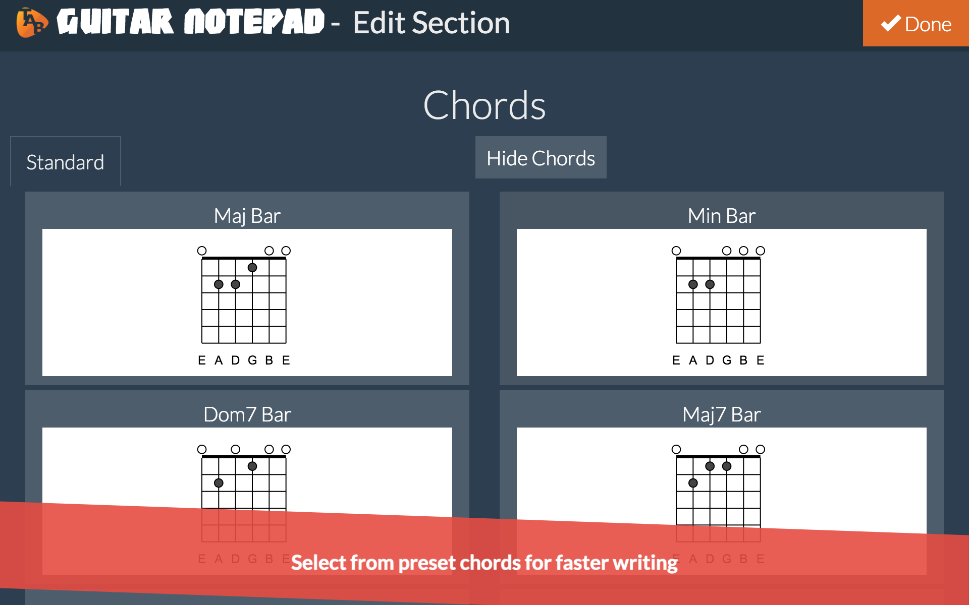 Amazon Guitar Notepad Tab Editor Appstore For Android