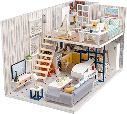 1:12 Doll House Simulation Model mini 5 Small Magazine Decorative Ornaments