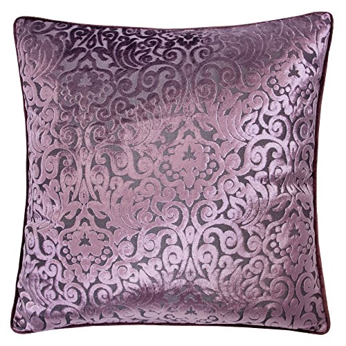 Homey Cozy Modern Velvet Throw Pillow Cover,Plum Purple Luxury