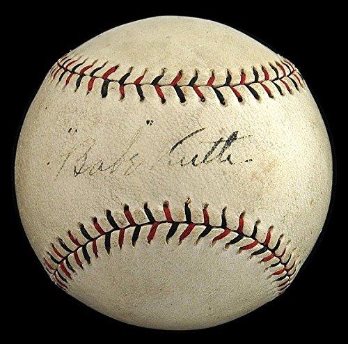 1917-1918 Babe Ruth Early Career Single Autographed National League Baseball – JSA Certified