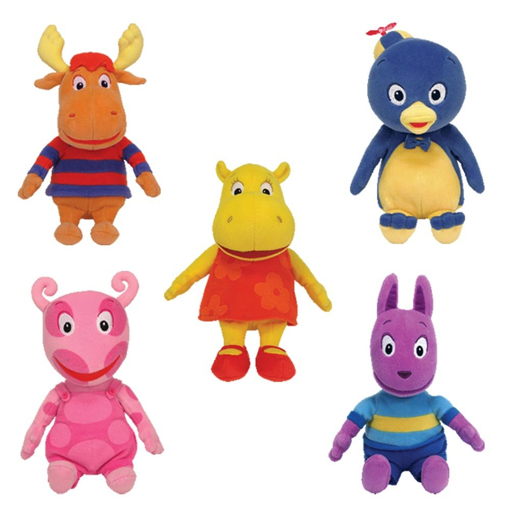 Exceptionnel Amazon.com: Ty Backyardigans Beanie Baby Set Of 5 Beanie Babies: Toys U0026  Games