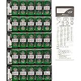 アルカリボタン電池 LR44 (A76-AG13)×50