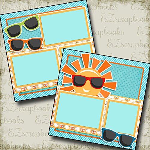 Sunglasses - Premade Scrapbook Pages - EZ Layout ()