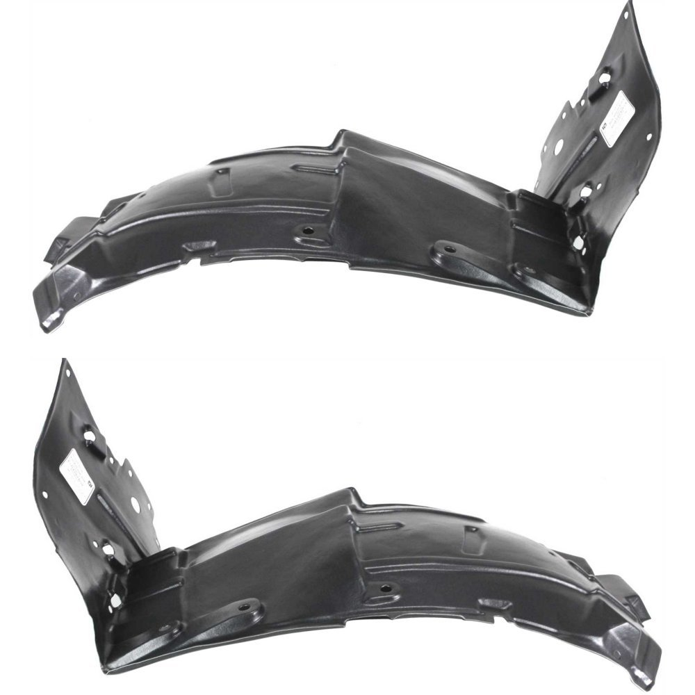 Fender Liner Set for 2003-2007 Infiniti G35 Coupe Front LH/RH Front Section Pair
