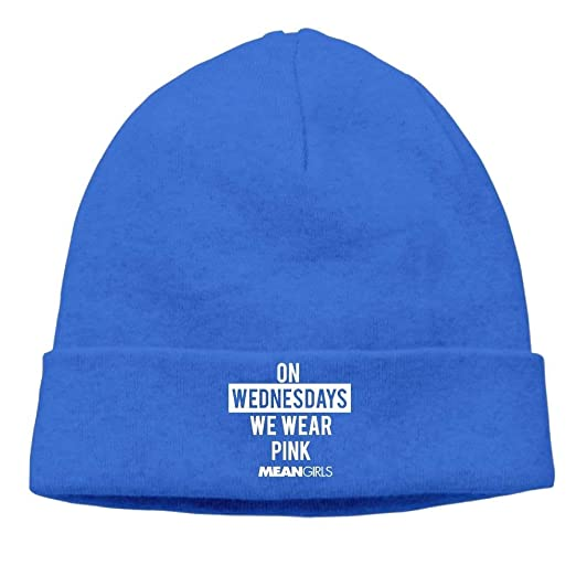 325dca38d Amazon.com: ACD&TV Funny Beanies Momen's Mean Girls We Wear Pink ...