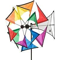 HQ Windmill Mini Duette Rainbow Girouette, 49 x