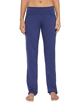 629174180e Schiesser Damen Schlafanzughose Jersey Hose Lang: Amazon.de: Bekleidung