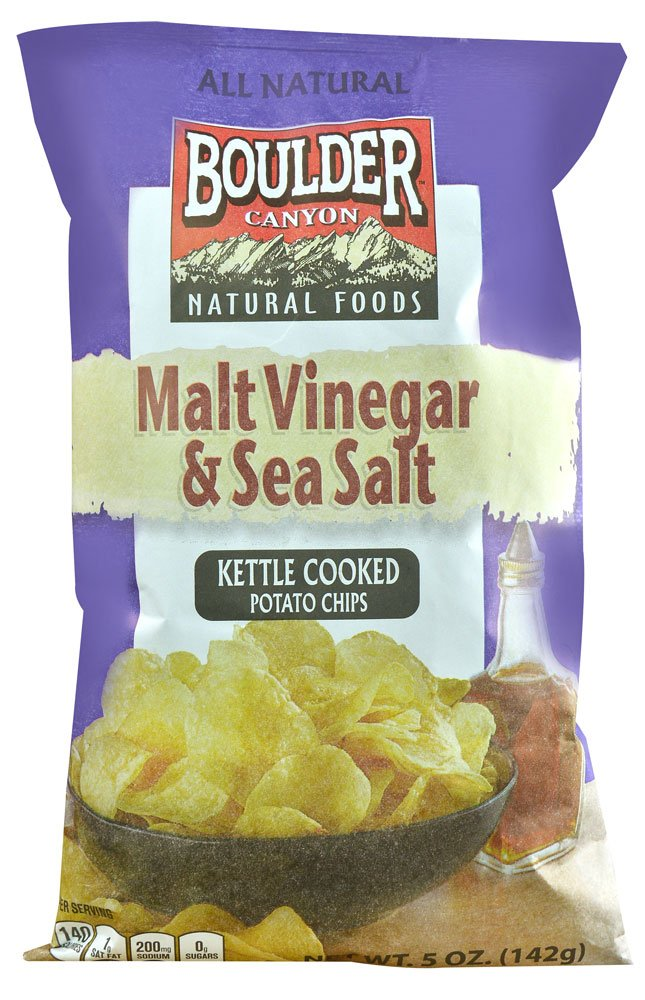 Kettle Cooked Chips ~ Amazon boulder canyon coconut oil kettle cooked