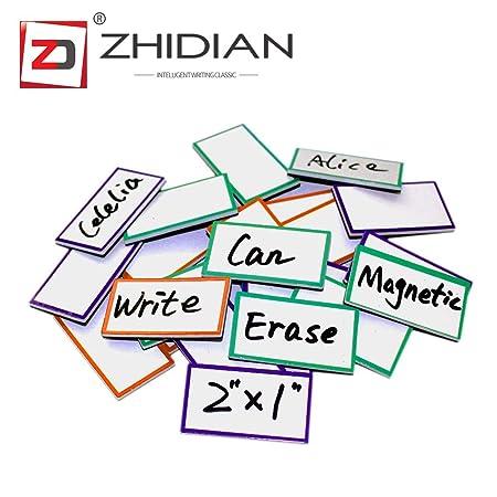 ZHIDIAN - Pizarra adhesiva de pared con 4 tizas incluidas ...