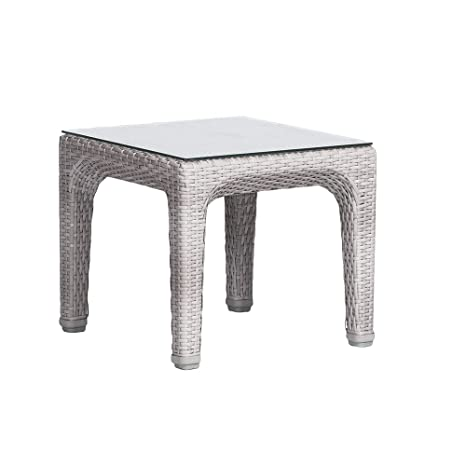 Artie - Petite Table de jardin Basse Dynasty, Résine Tressée ...