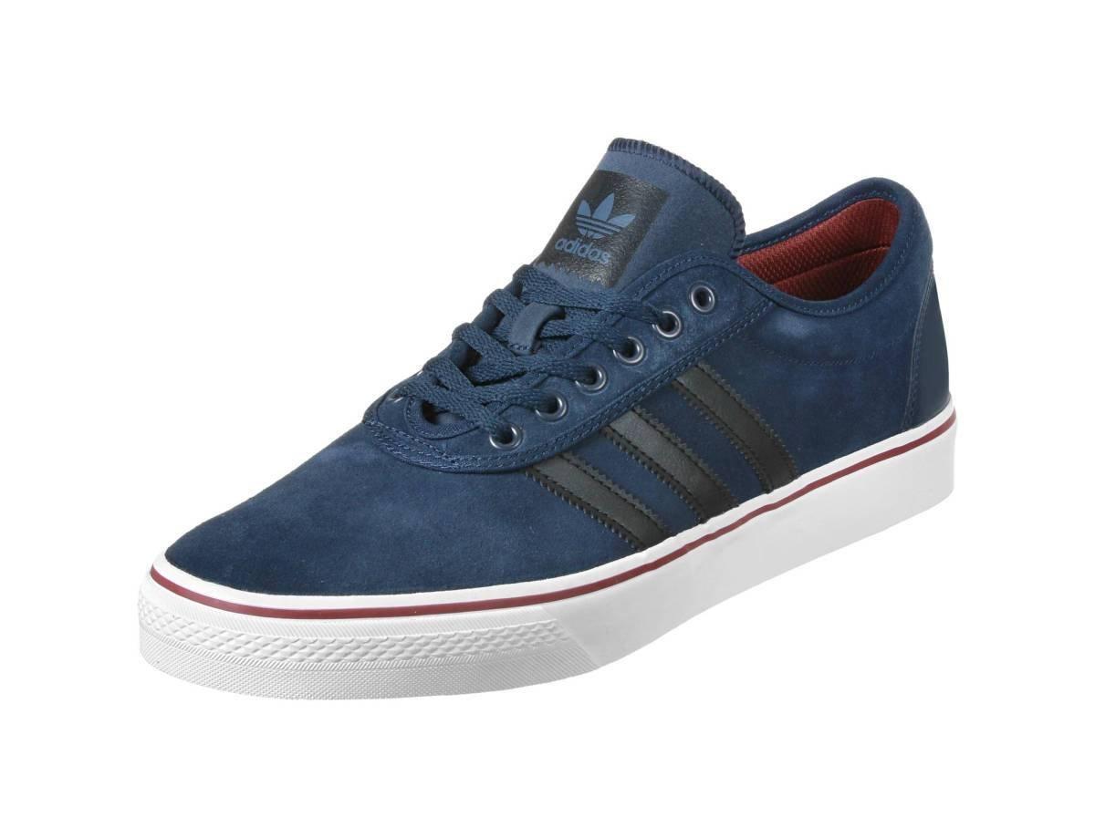adidas Skateboarding Unisex Adi-Ease Collegiate Navy/Core Black/Footwear White 8.5 B(M) US Women / 7.5 D(M) US Men
