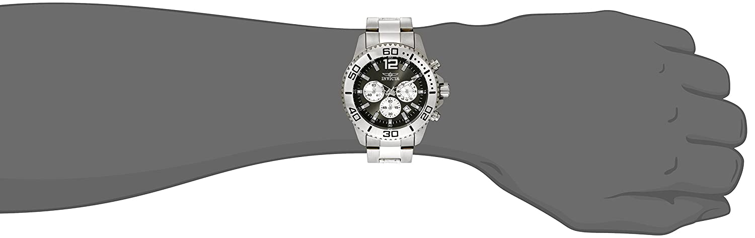 Amazon.com: Invicta Mens 17398 Pro Diver Analog Display Japanese Quartz Silver Watch: Invicta: Watches