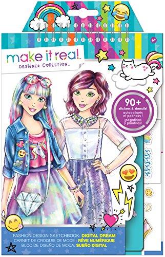 Fashion Design Digital Kawaii Stickers product image