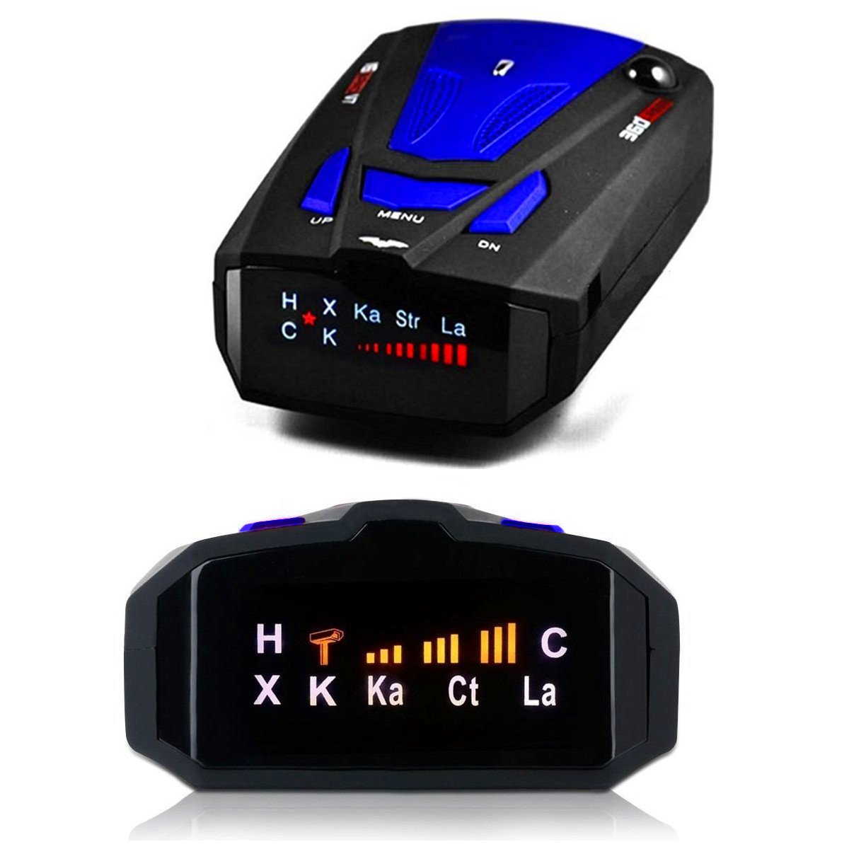 ToysUkids Radar Detector,Radar Detector with Voice Alert and Car Speed Alarm System with 360 Degree Detection by ToysUkids