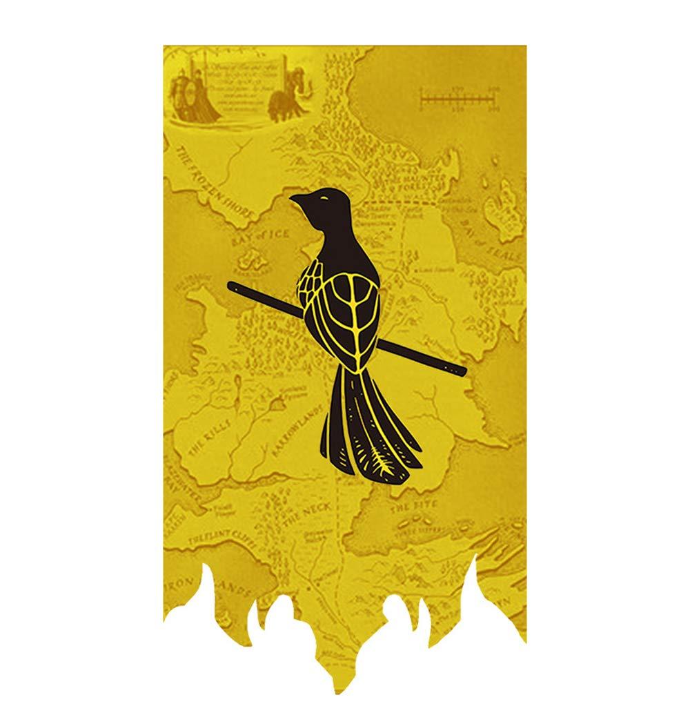 100cm X 65 CM Banni/ère de la Maison Gift for Game Banner Throne s, Affiche Gift for Game Banner Throne s, Drapeaux muraux pour la d/écoration de la Bar House Party FengHuiCartoon