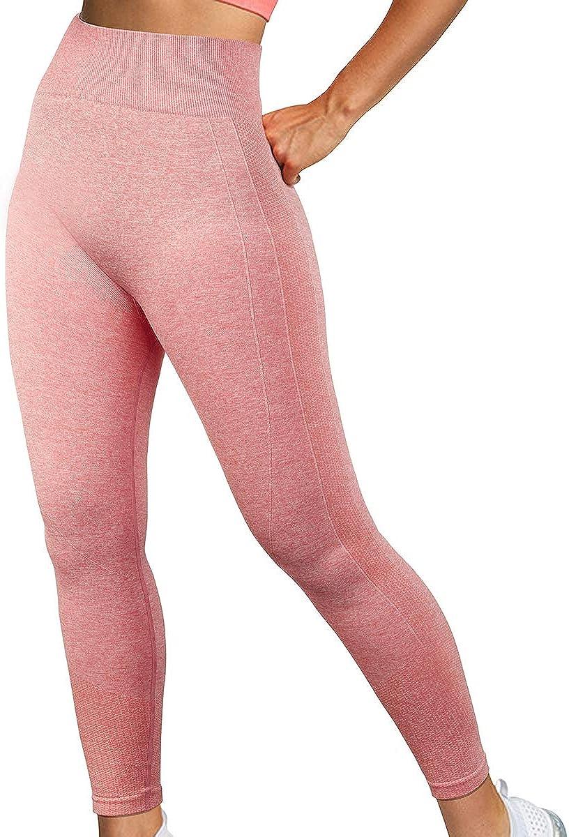 DOULAFASS Women High Waisted Seamless Butt Lifting Workout Gym Yoga Leggings
