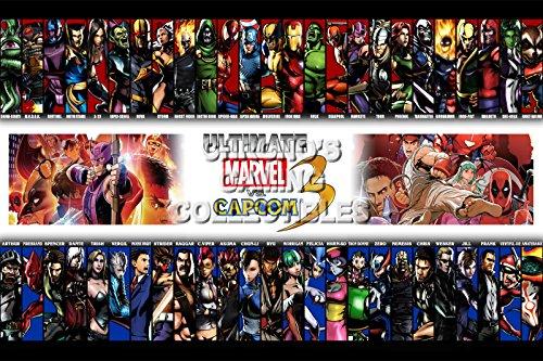 PremiumPrintsG - Ultimate Marvel Vs Capcom 3 PS3 PS4 Xbox 360 ONE Infinite - XEXT872 Premium Decal 11