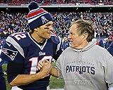 Tom Brady Bill Belichick New England Patriots 8x10 Photo 4947