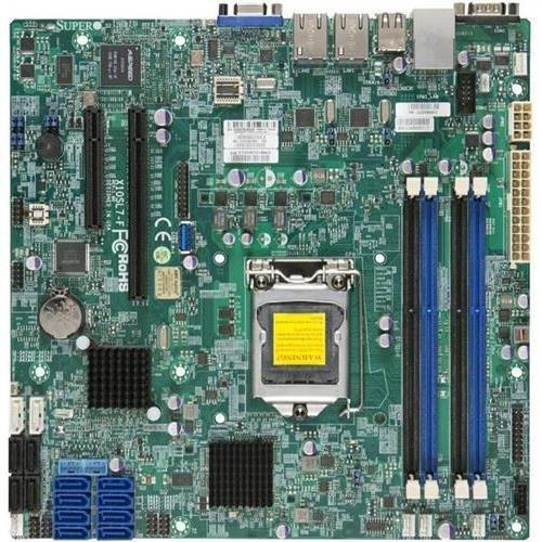 Super Micro Supermicro MBD-X10SL7-F-B LGA1150/ Intel C222 PCH/ DDR3/ SATA3&SAS2&USB3.0/ V&2GbE/ MicroATX Server Motherboard (Super MicroMBD-X10SL7-F-B )