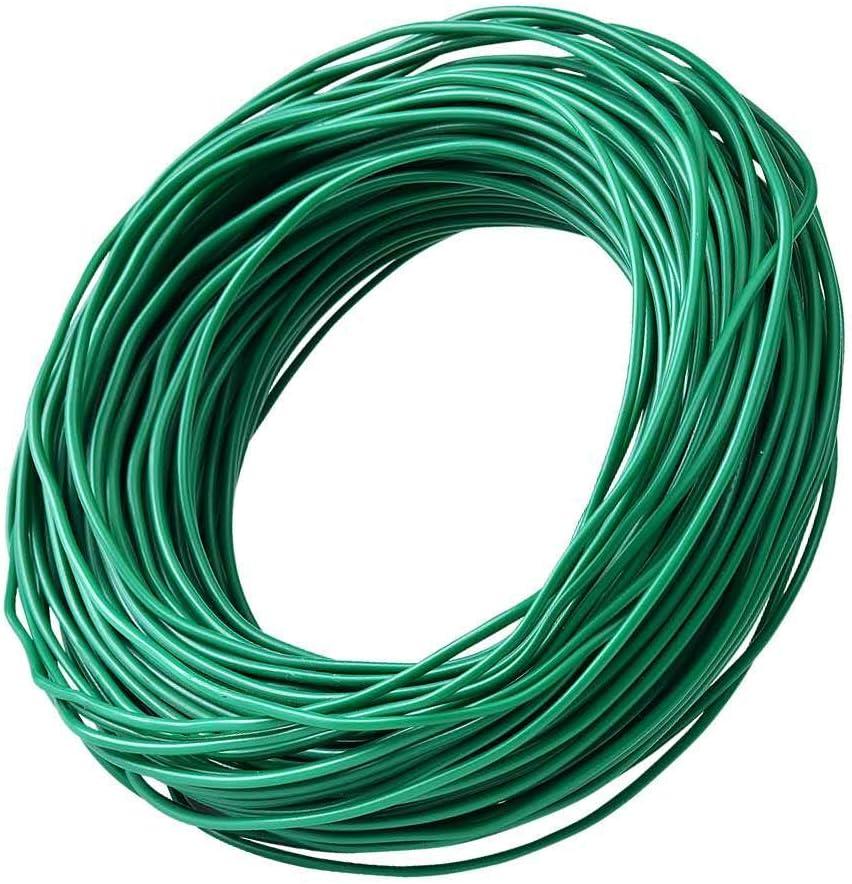 PGarden-EZ Gardener Twine Green Plant Ties Twist Ties, Thick Foamed Ties for Home and Garden Tape 100 Feet