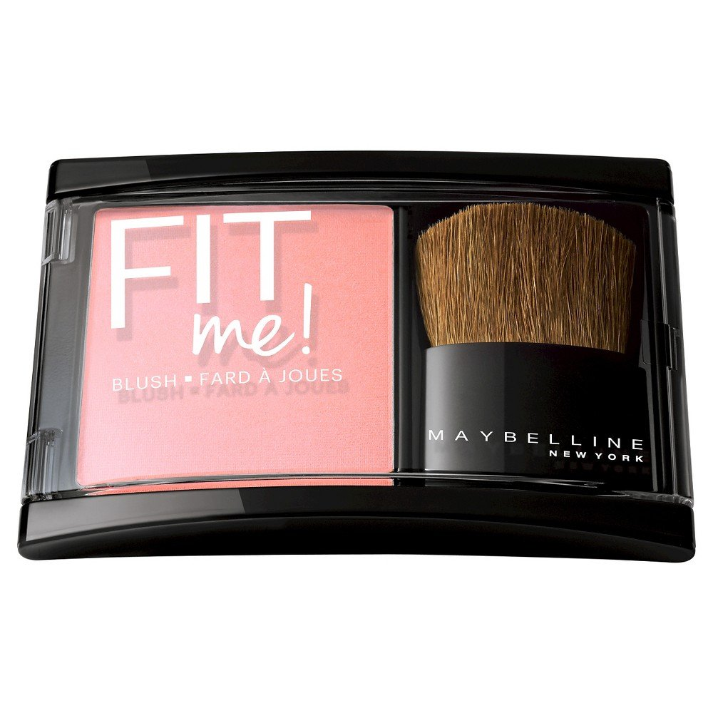 Maybelline New York Fit Me! Blush, Light Rose, 0.16 Ounce
