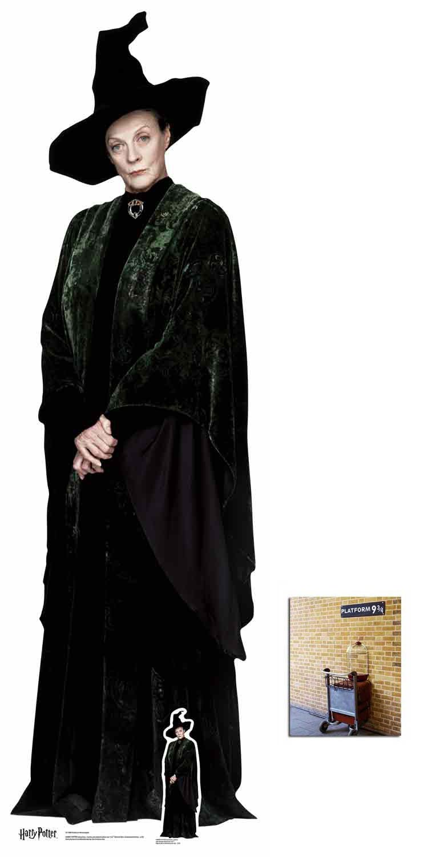 New Harry Potter MINERVA MCGONAGALL Magical Wand Replica Costume Cosplay