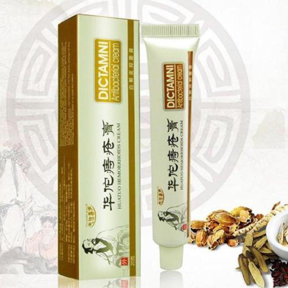 Dragon Honor Dictamni Antibacterial Cream Chinese Herbal Hemorrhoids Cream 20g