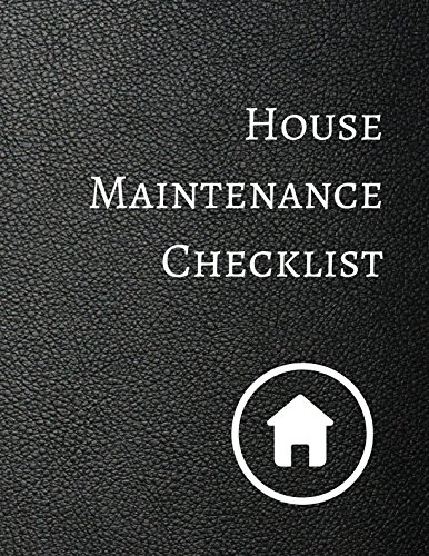 House Maintenance Checklist ebook