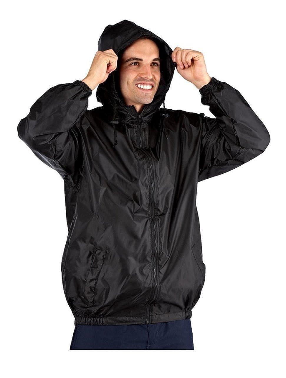 Mens ProClimate Kag In A Bag Festival Coat Waterproof Wind Resistant Jacket  Mac  Amazon.co.uk  Clothing e6bec25876