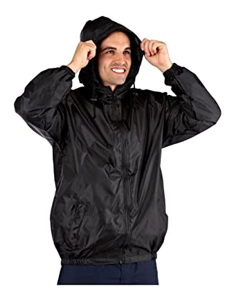 Mens ProClimate Kag In A Bag Festival Coat Waterproof Wind Resistant Jacket  Mac  Amazon.co.uk  Clothing f742b468b