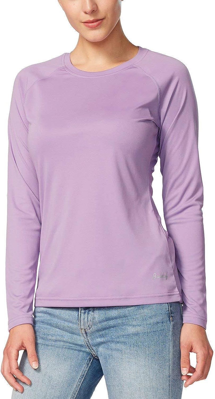 BALEAF Women's UPF 50+ Sun Protection T-Shirt SPF Long/Short Sleeve Cool Dri Rash Guard Swim Outdoor Hiking Fishing Shirt