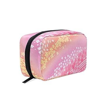 Amazon.com: Bolsa de maquillaje con diseño de cerezo y ...