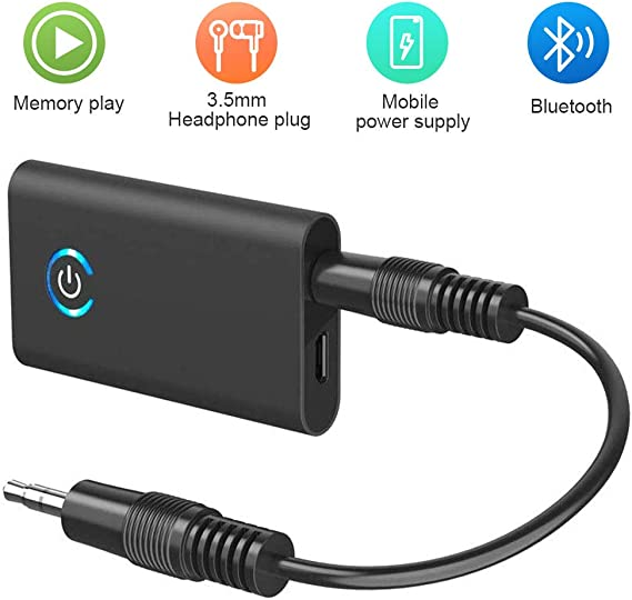 MPOW  Wireless Bluetooth V4.1 Receiver Stereo Audio Adapter w//3.5mm to RCA Cable