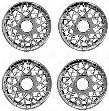 Amazon.com: CCI IWC150-16CN 16 Inch Clip On Chrome Finish Hubcaps - Pack of 4: Automotive
