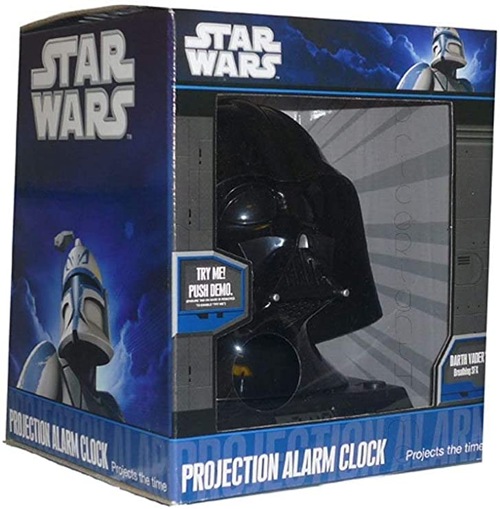 Star Wars Reloj Despertador, Noir: Amazon.es: Hogar