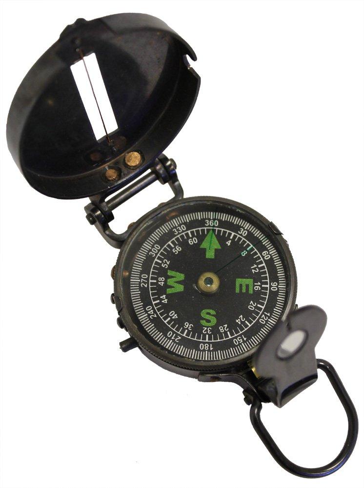 Lensaticポケットコンパス – アンティーク仕上げ – ミリタリースタイル B001P99M2C