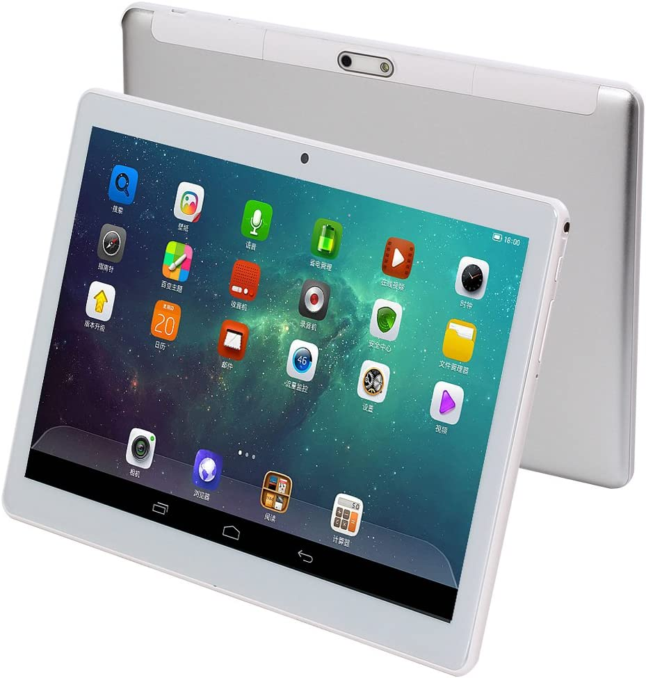 """10 Inch Android Tablet mit Sim Card Slot - 10"""" 3G Unlocked Gsm Phone Call Tablets Octa Core 4Gb Ram 64Gb Rom Built bei Gps Wifi Otg Camera"""